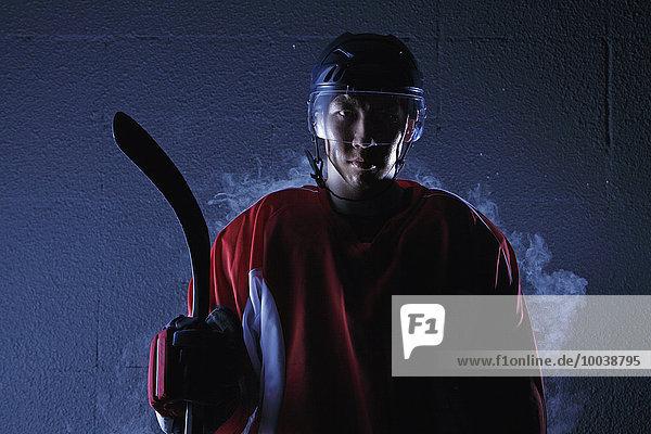 Spiel Eis jung Hockey