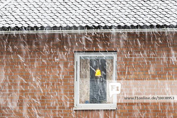 Fenster Gebäude Schnee Wetter