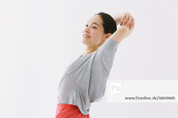 Japanese woman training