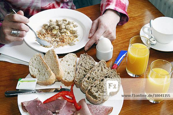 Frau Gesundheit Frühstück