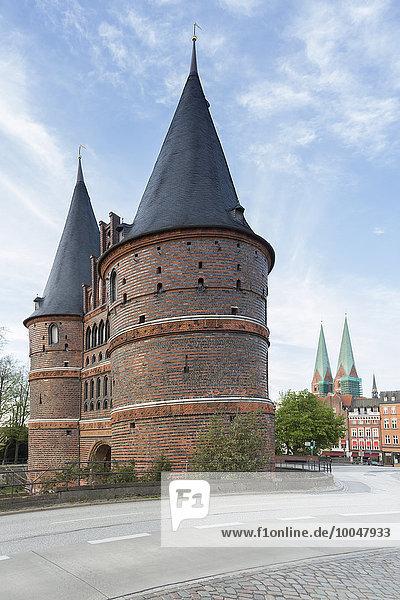 Deutschland  Lübeck  Holsten Gate Deutschland, Lübeck, Holsten Gate