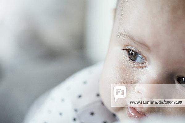 Nahaufnahme des Babygesichts