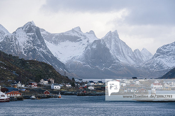 The fishing village of Reine  Lofoten  Norway