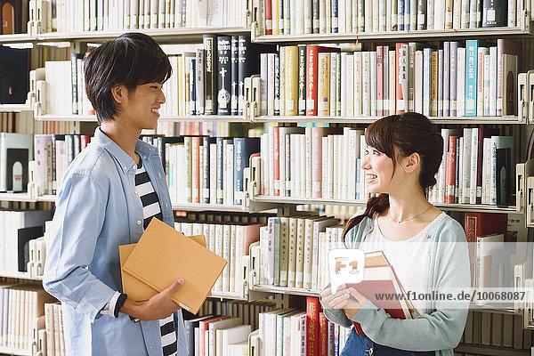 Bibliotheksgebäude Student Universität