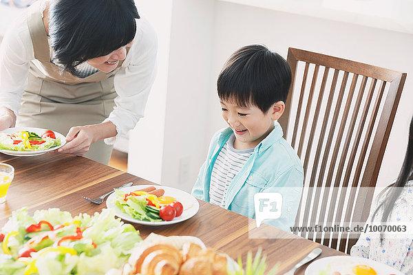 Zusammenhalt Küche japanisch