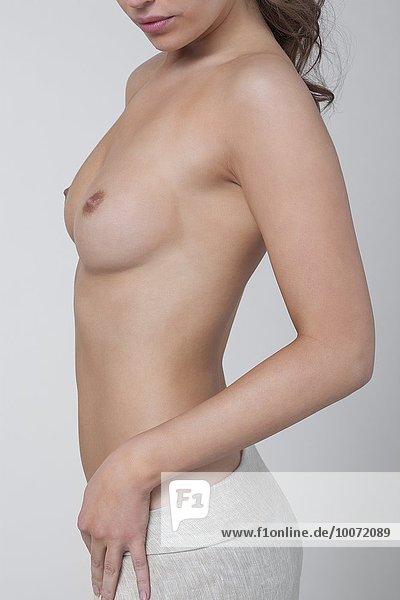 Nackte Frau