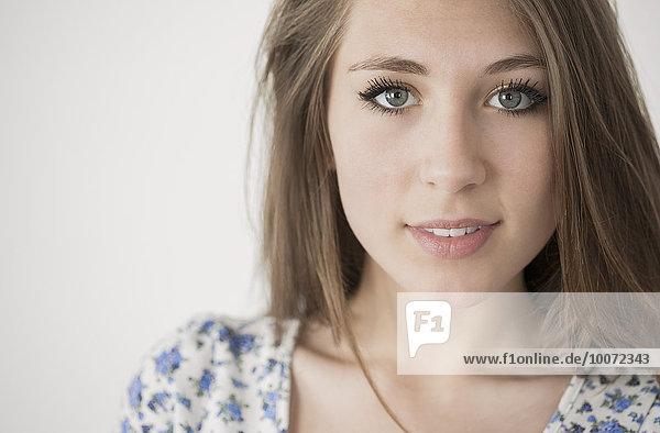 Porträt eines glücklichen Teenagers