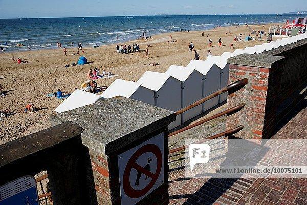 Frankreich Großstadt Meer Urlaub Normandie