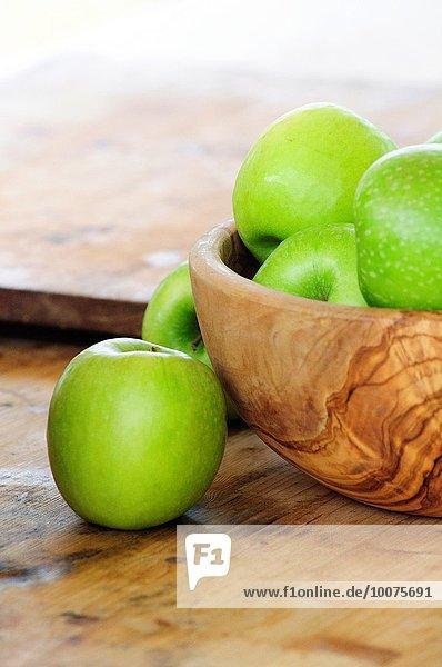 Frische grün Apfel