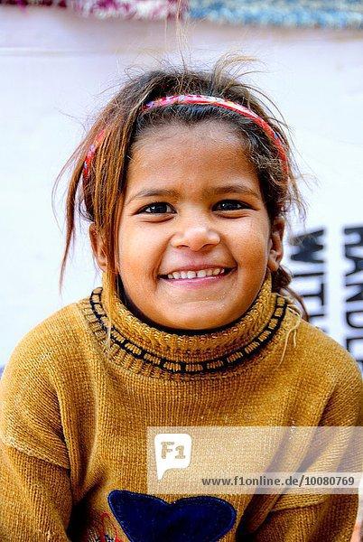 Smiling bedouin girl - Dahab  Sinai Peninsula  Egypt.