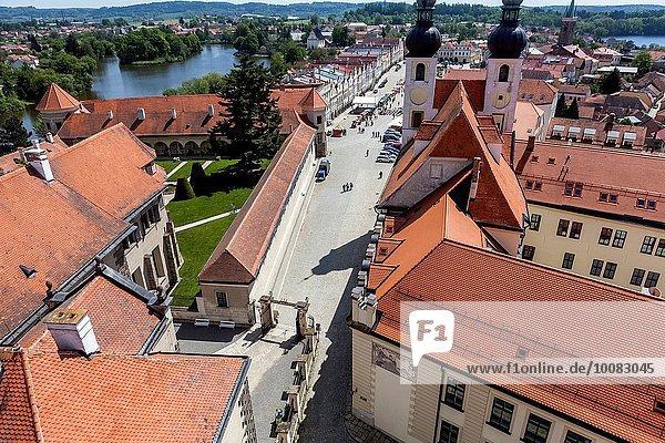 Stadt Tschechische Republik Tschechien UNESCO-Welterbe Telc