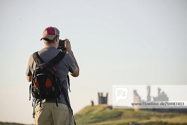 Europäer Großbritannien Tourist fotografieren
