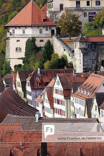 Stadt Palast Schloß Schlösser Ansicht Erhöhte Ansicht Aufsicht heben Deutschland