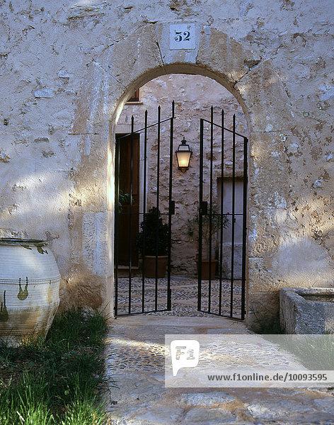 Tür zum Patio