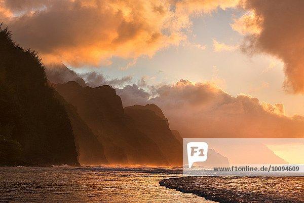 Sonnenuntergang Hawaii North Shore