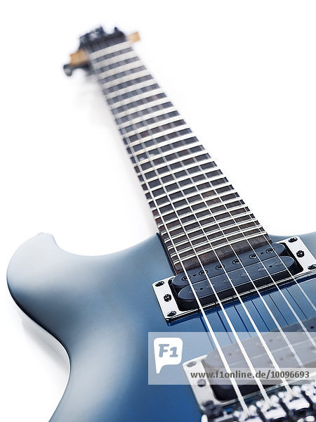 Blaue E-Gitarre  Ibanez S-Serie