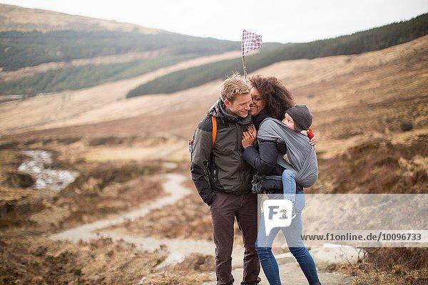 Familienwandern  Fairy Pools  Isle of Skye  Hebriden  Schottland