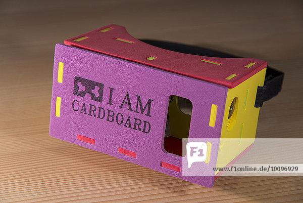 I AM CARDBOARD  45mm Focal Length  Virtual Reality Google Cardboard  VR Brille
