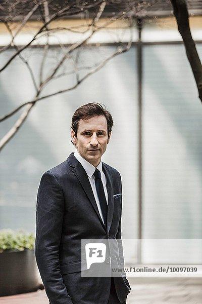 Porträt eines reifen Geschäftsmannes
