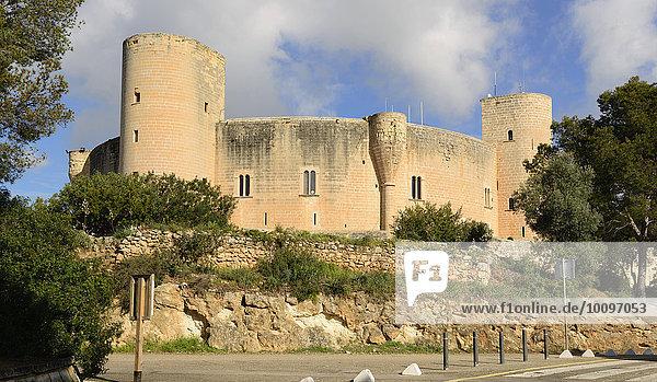 Castell de Bellver  Palma de Mallorca  Mallorca  Balearen  Spanien  Europa