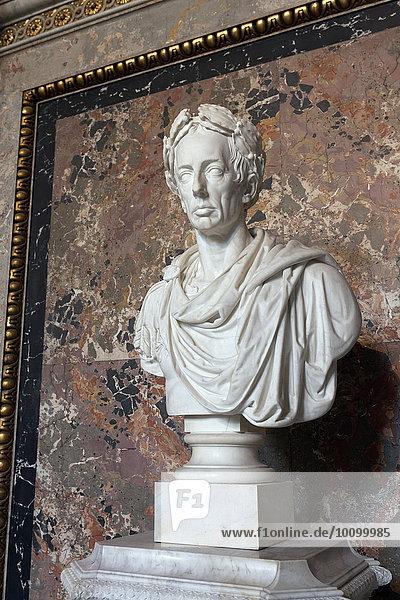 Emperor Franz I  bust by Camillo Pacetti  Kunsthistorisches Museum  Vienna  Austria  Europe