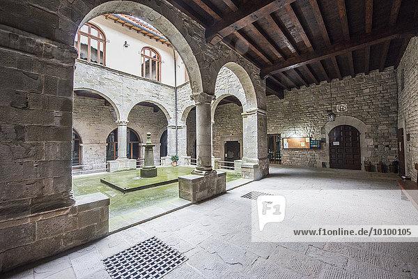 Kloster von Camaldoli  Toskana  Italien  Europa