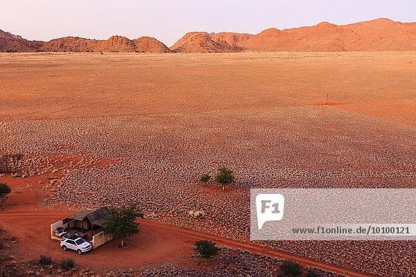 Campingplatz  Farm Tiras  Tirasberge  Namibia  Afrika