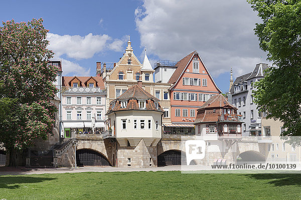Innere Brücke  Esslingen  Baden-Württemberg  Deutschland  Europa