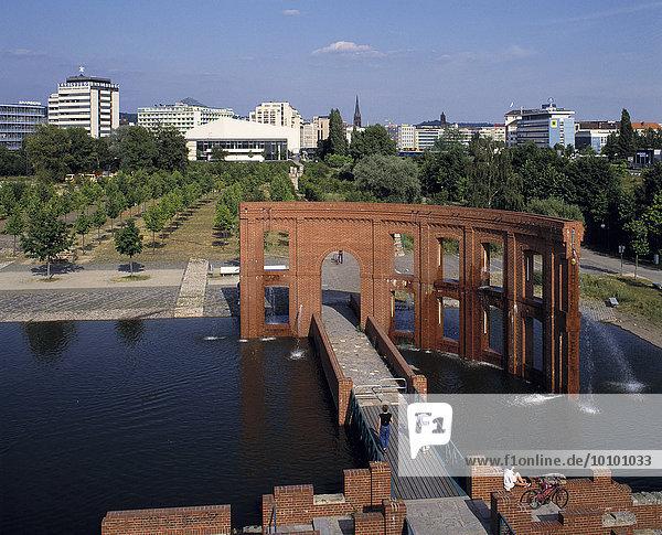 Bürgerpark Saarbrücken  Saarbrücken  Saarland  Deutschland  Europa