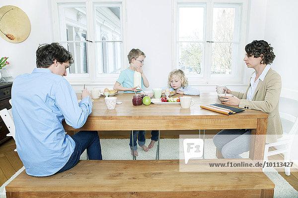 Küche Tisch Frühstück