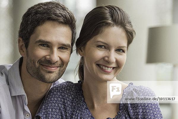 Paar zu Hause  Portrait