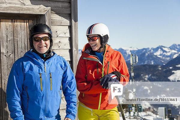 Portrait Berg Berggipfel Gipfel Spitze Spitzen Ski Skiurlaub