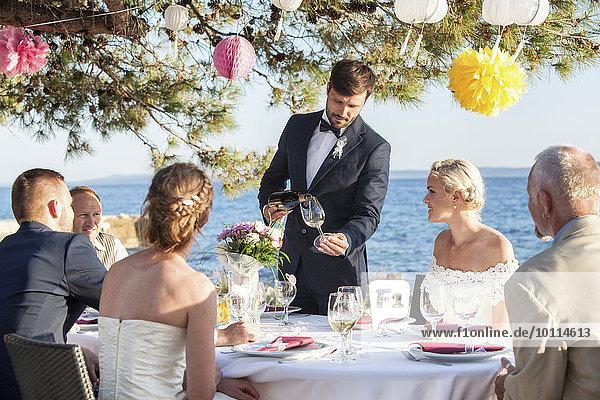 Hochzeit Strand Party
