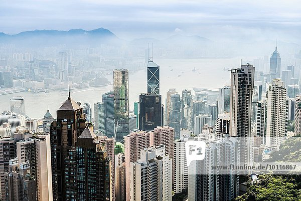 Skyline  Hongkong  China