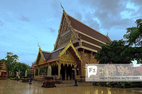 Wat Neramit Wipatsana Tempel  Dan Sai District  Provinz Loei  Thailand  Asien