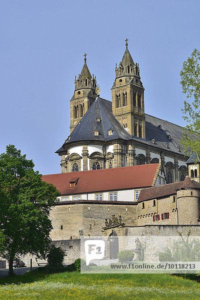 Kloster Großcomburg  Schwäbisch Hall  Baden-Württemberg  Deutschland  Europa