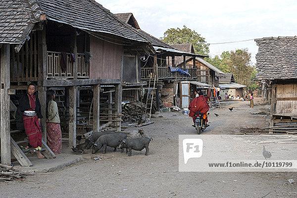 Mensch Myanmar Asien