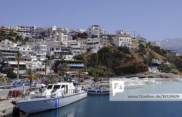 Fischerboote,  Hafen,  Agia Galini,  Kreta,  Griechenland,  Europa