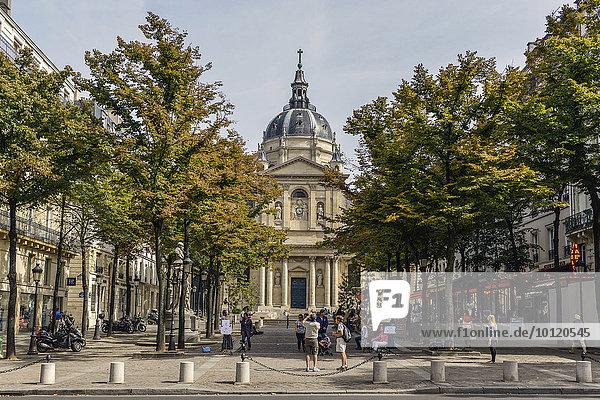 Université de la Sorbonne  Place de la Sorbonne  Quartier Latin  Paris  Frankreich  Europa