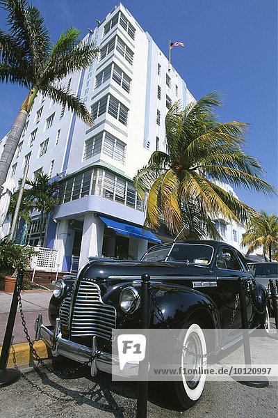 Ocean Drive  Miami Beach  Miami  Florida  USA  Nordamerika