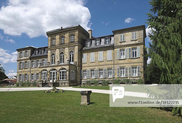 Schloss Fantaisie  Eckersdorf  bei Bayreuth  Oberfranken  Bayern  Deutschland  Europa