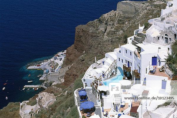 Oia  Santorin  Kykladen  Griechenland  Europa