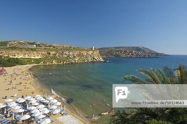 Europa Strand Golden Bay Malta