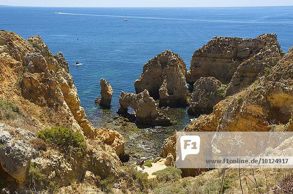 Ponta da Piedade  Algarve  Portugal  Europa