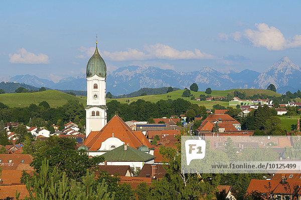 Nesselwang im Allgäu  Bayern  Deutschland  Europa