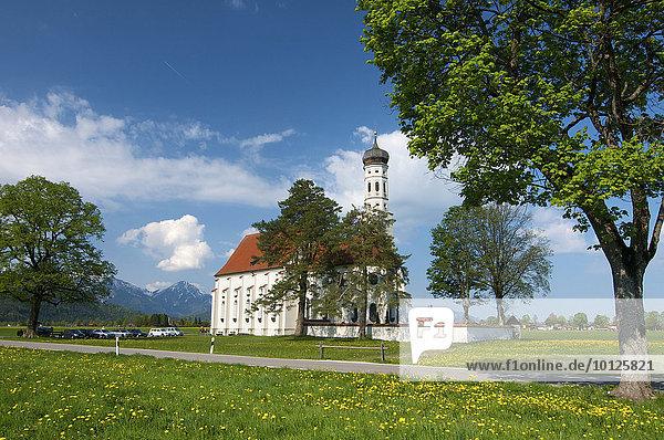 Sankt Koloman bei Füssen  Allgäu  Bayern  Deutschland  Europa