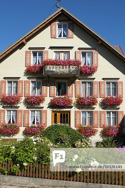 Haus in Scheidegg  Allgäu  Bayern  Deutschland  Europa