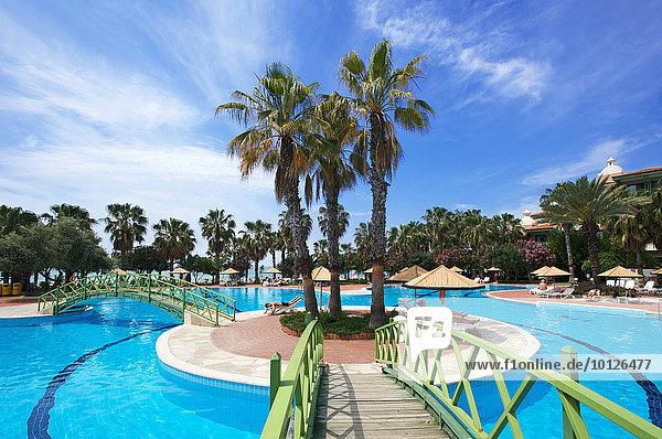 Hotel Defne Star in Side  Turkish Riviera  Turkey  Western Asia  Asia