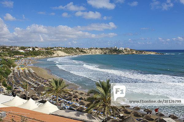 Coral Bay Beach bei Paphos  Südzypern  Zypern  Europa