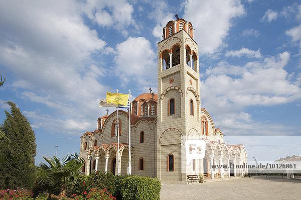 Kirche in Paralimni bei Agia Napa  Südzypern  Zypern  Europa